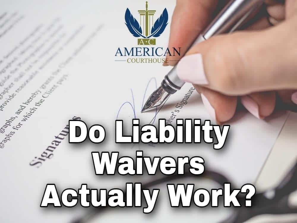 Do liability waivers work?
