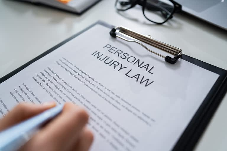 Process for efficient the Personal injury case steps